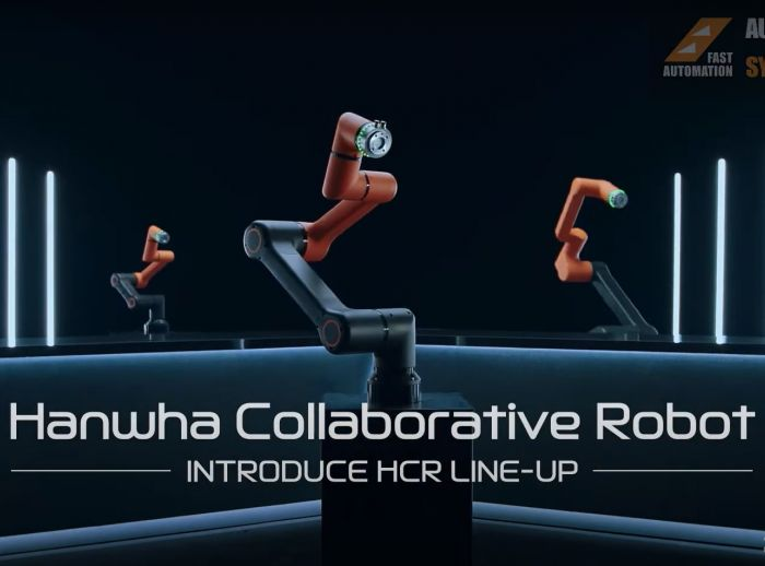 Hanwha HCR Collaborative Robot from Fast Automation